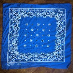 💥 Cool boho blue bandanna 💥